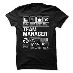 Team Manager T-shirt T Shirt, Hoodie, Sweatshirt