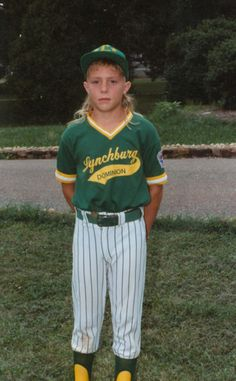 Little Brandon Inge and his mullet ... :)