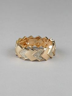 god help me, I love this Kardashian Kollection Bracelet. It would be even prettier as a ring though.
