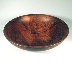 English Walnut Turning - Dale Larson  -  One of kind bowls in Georgetown! www.appalachianspring.com