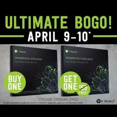 ItWorks! Wraps sale ends tonight! I am proud to announce my boutique has joined with the ItWorks! Brand to add even more awesome products to our ever growing inventory!   We partnered together just in time in order to take advantage of an amazing sale!   Wraps are currently BOGO ....so 8 wraps (2 boxes) for the price of 4 (1 box)!!  Please visit my site for more info!!!!  SajaBoutique.itworks.com Accessories