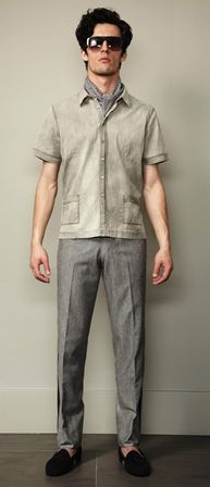 RAKE Spring/Summer collection 2014 #suit #shirt #tie #pocketsquare #pants #trousers #shoes #tshirt #jacket #style #fashion #hair #menswear #mensfashion #mens #spring #summer #2014 #SS14