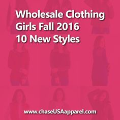Wholesale Clothing Girls Fall 2016 - Chase USA Apparel