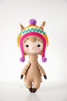 Llama Plush Toy Alpaca Plushie Camel Llama Stuffed Toy