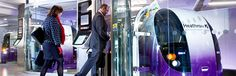 Heathrow PRT pods - ULTra PRT, Bristol, England #advancedtransit