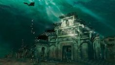 There is A 1300 Years Old Ancient City Under a Lake In China Where Time Travel is Believed Possible