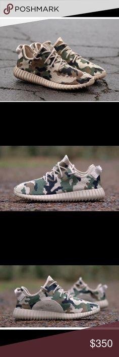 Yeezy Camo Authentic Adidas Yeezy 350 Camo Yeezy Shoes Athletic Shoes