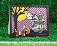 A Special Halloween Card and Gift Set by Rebecca