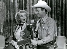 Roy Rogers and Dale Evans❤ Dale Evans, Howard Hughes, Roy Rogers, Happy Trails, Western Movies, Wild West, American History, Movie Stars, Vintage Photos