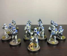 Imperial Legion, Imperial Assault, 501st Legion, Star Wars Design, Star Wars Merchandise, Clone Trooper, Tabletop Games, Toys Photography, Marcel