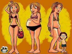 ¿Cómo aplanar tu vientre luego del nacimiento del bebé?