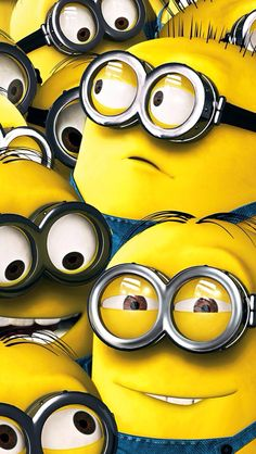 Minion background backgrounds cool designs pinterest - Despicable me minion screensaver ...