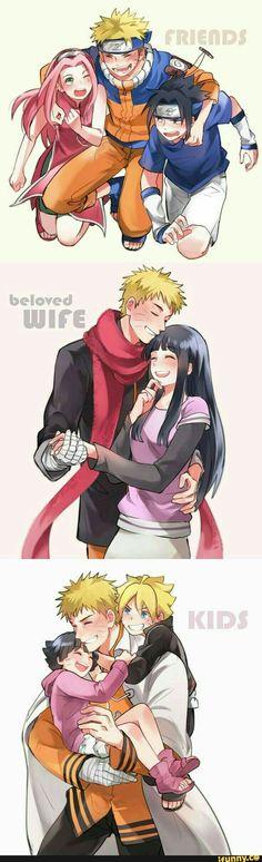 Naruto (Amigo, Esposo y Padre)