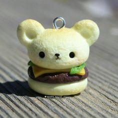 Kawaii bear burger!Hope you like it! . . . #kawaii #bear #burger #kawaiiburger #bearburger #yummy #miniaturefood #fakefood #clay #food #clayfood #cute #awesome #amazing #sarahskawaiicharms #charm #polyclay #polymerclay #handmade #handmadeinitaly #italy #insta #instagram #instafood #instadaily #follow #followme