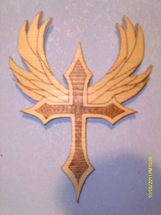 cross with wings #2 $15