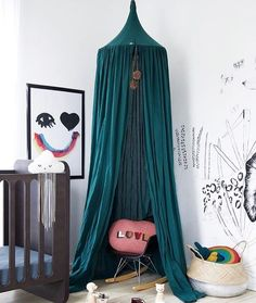 Loving the richness in colour of this beautiful HANGING CANOPY.. Pic credit @nyearthur  #kidsinterior #kidsroom #kidsbedroom #childrensroom #childrensinteriors #kidsdecor #decor #kidsbedroominspiration #childrensbedroom #childrensspaces #girlsroom #girlsbedroom #interiorinspo #bedroom #interiors #roxyoxycreations #hangingcanopy #canopy
