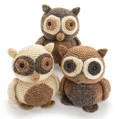 Hootie the Owl pattern by Stacey Trock