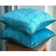 Luxury Turquoise Blue Pillow Cases, Solid Color Beaded Co... https://www.amazon.com/dp/B004NPTX24/ref=cm_sw_r_pi_dp_x_.hg2xb4PR8Y2B