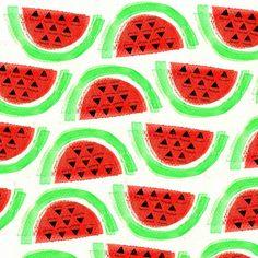 emily-hamilton | Watermelon Pattern