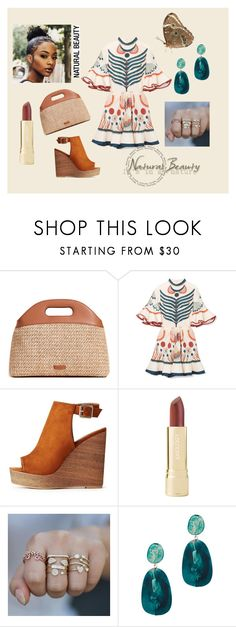 It's in My Nature by rasheeda-moore on Polyvore featuring Chloé, Charlotte Russe, Steven Alan, Dinosaur Designs, Axiology, boho, naturalbeauty and basketbags