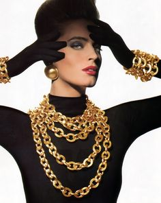 Vintage Chanel chains in a Bold size!
