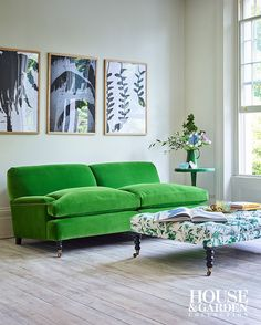 The Holmes is a grand sofa that commands the attention of any room. Designed by House & Garden. Handcrafted by Arlo & Jacob.
