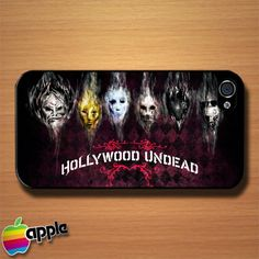 Hollywood Undead Masks Custom iPhone 4 or 4S Case Cover