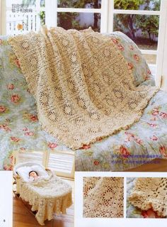 Crochet: Two Baby blanket