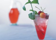 When the summer heat comes on, cool down with this refreshing cherry-inspired drink.