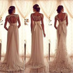 these dresses are reminiscent of the Jane Austen era.  absolutely gorgeous. Get2Style.com.