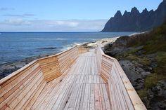 Northern Norwegian coast of Varenger