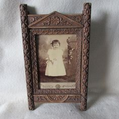 SOLD....Antique c1880s Aesthetic Movement Picture Frame
