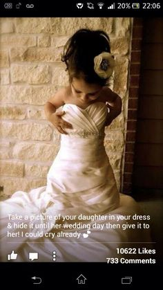Beautiful wedding ideas - from Mother to daughter