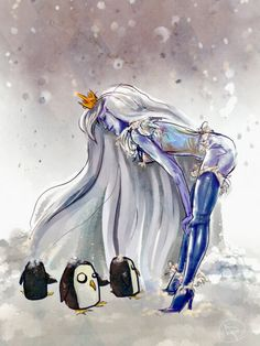 Adventure Time - Ice Queen