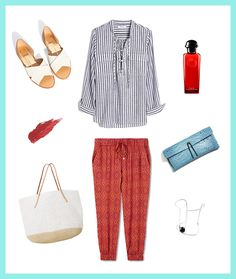 Grab your favorite red pants to show off your patriotic style at work.