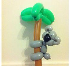 Koala balloon animal