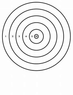 Images Dog Coloring Page, Coloring Pages To Print, Coloring Sheets, Airsoft, Pistol Targets, Bow Target, Target Image, Shooting Targets, Shooting Sports
