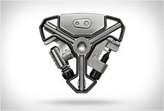 Y-SHAPED MULTI TOOL   BY CRANK BROTHERS - comes apart to provide 16 individual bikes tools