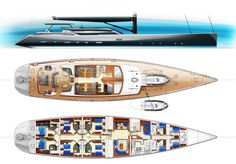 New 44m charter sailing yacht design from Tony Castro - Design - SuperyachtTimes.com