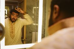 Groom Getting Ready, Indian Groom, Get Ready, View Photos, Sari, Gallery, Weddings, Fashion, Saree