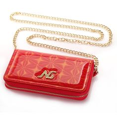 iPhone 6 Case KINGCOOL(TM) Premium Luxury Bling Purse Leather Wallet Handbag Case Cover for Women with Detachable Shoulder Chain Strap Compatible with Apple iPhone 6 4.7 Inch(C-Red) Specially designed for Apple iPhone 4.7 inch Made of high quality PU leather material+magnetic flip design Includes slots to store your credit cards / business cards Provides great protection with easy installation Full access to all functions