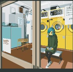 The Loneliness Of Japan In Retro-Style GIFs
