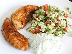 Tzatziki, Gluten Free Recipes, Keto Recipes, Snack Recipes, A Food, Food And Drink, Lchf, Broccoli, Pesto