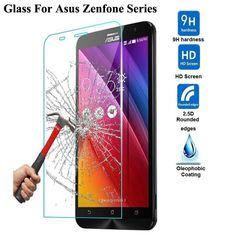 Tempered Glass For Asus Zenfone 2 Laser ZE550KL ZE601KL 4 5 6 Selfie Go ZC500TG ZB551KL Max ZC550KL Screen Protector Cover Film
