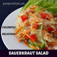 Colorful Sauerkraut Salad