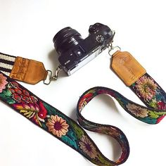 "@stevegangg ""shout out to @hiptipico for this amazing one of a kind camera strap with my handle name engraved & everything! they're handmade from Guatemala and it's definitely worth it! comfortable & colorful "" www.hiptipico.com"