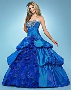 Landa Quinceanera AQ02 at Prom Dress Shop