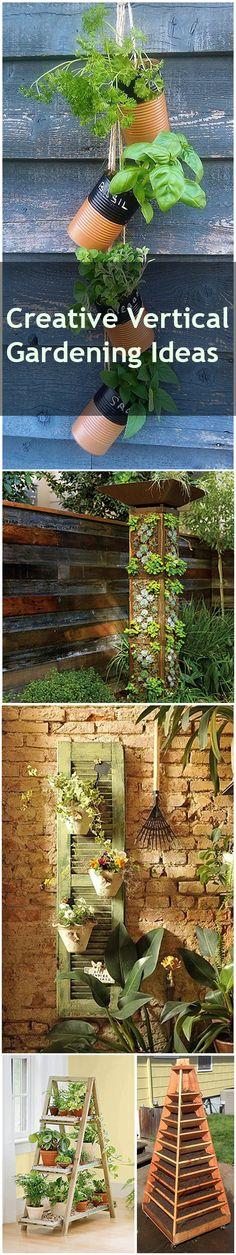 Creative Vertical Gardening Ideas