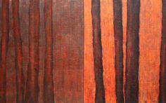 JR Jonathan Roy artiste peinture sculpture : Rougeurs I - II, 2014