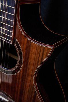 Guitar Inlay, Classical Acoustic Guitar, Resonator Guitar, Guitar Building, Cool Guitar, Sound Of Music, Music Stuff, Ukulele, Crock Pot